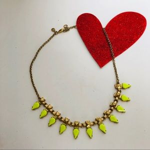 J. CREW-statement necklace/ choker.